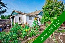 Central Nanaimo Rancher with Shop for sale:  3 bedroom 954 sq.ft. (Listed 2019-09-24)